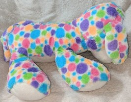 Fiesta Mod Squad A51766 12 inch Multi Colored Polkadots Floppy Dogs image 2