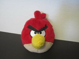 "6"" Red Angry Birds plush Commonwealth Toy & Novelty Rovio - $5.89"