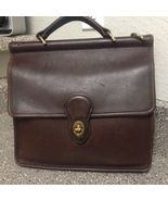 As is coach willis chocolate brown satchel 9927 thumbtall