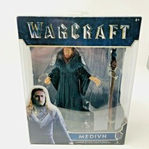 "Jakks Pacific Warcraft 6"" ACTION FIGURE Medivh with Accessory 2016 - $19.98"