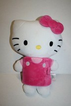 """Hello Kitty Pink Plush Stuffed Animal Book Buddies 12"""" Zoobies Soft Toy 2013 - $17.39"""