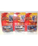 3 LOT Transformers RID CAR ROBOTS TAKARA brawn side burn prowl C002 C004... - $89.99