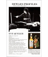 Eve Queler Conductor Dewar's White Label 1974 AD Opera Orchestra Carnegi... - $10.99