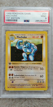 Pokemon Machoke 34/102 1st Edition Base Set PSA 9 1999 Pokemon Game Shadowless - $59.99