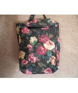 Rose Bag, Rose Book Bag, Purse, Handbag, Small Tote Bag - $9.50