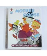 Mother Goose, Anne Sellers Leaf, Vintage Children's Junior Elf Book - $10.00