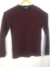 Vans Mens XL Blue Pullover Long Sleeve Shirt - $23.16