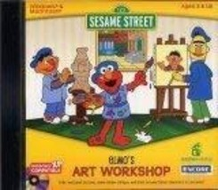 Sesame Street Art Workshop [CD-ROM] Windows NT / Mac / Linux / Unix / Wi... - $107.24
