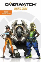 Overwatch World Guide + Poster Terra Winters Scholastic & Blizzard Enter... - $6.52