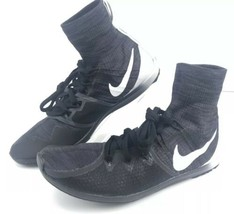 Nike Zoom Victory XC 4 Track Spikes Shoes Distance Men Size 8 Black/White - $33.65