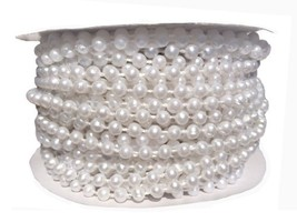 Roll of 4mm Pearls for Wedding Cakes By Decopac - $11.68