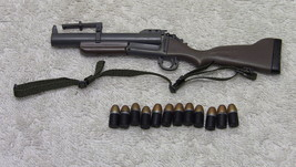 U.S. Navy Seal M60 Gunner Grenade Launcher + 12 grenades - Hot Toys Military - $21.29