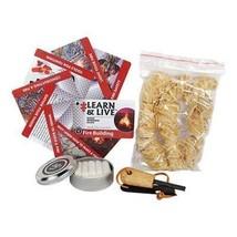 UST Heritage Campfire Kit W/ Fire Starter, Kindling, Tinder, Instruction... - $22.95