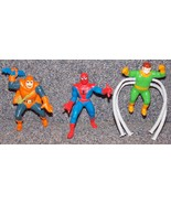 Vintage 1990s Marvel Spider-Man, Hobgoblin & Dr Octopus PVC Lot of 3 Fig... - $29.99