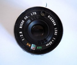 Ricoh 500G FILM CAMERA Lens PARTS FOR Repair - $17.00
