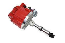 Big Block Buick HEI Distributor Red Cap 400 430 455 65K VOLT COIL image 7