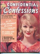 Confidential Confessions 6/1960-Ace-exploitation-sensationalism-spicy pu... - $40.74