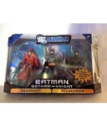 DC Universe Infinite Heroes Gotham Knight Batman Scarecrow Deadshot 3pk ... - $29.69
