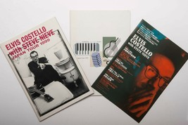 HTF ELVIS COSTELLO and STEEVE NIEVE 1999 Japan Tour Concert Program x2 F... - $126.72