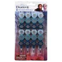 Disney Frozen 2 Stacked Decorative Pencils (4 Pack)