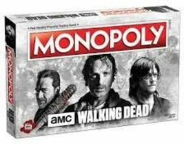 USAopoly MONOPOLY®: The Walking Dead AMC Board Game - $29.31