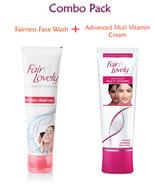 50gm Fair & and Lovely Fairness Face Wash + 50gm Advanced Muti Vitamin C... - $10.39