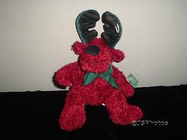 Russ Berrie Twinkle Reindeer Plush 101494 Tags Handmade - $67.54