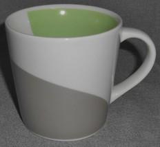 2005  Starbucks PASTEL COLORS - SILVER - GREEN 12 oz Coffee Mug - $14.84