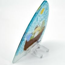 Fused Art Glass Noah's Ark Christian Religious Night Light Handmade in Ecuador image 4