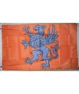 House Harkonnen Dune Frank Herbert 3'x5' Orange & Blue Horizontal Flag Banner  - $25.00