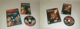Resident evil games veronica outbreak Playstation 2 Ps2  clean tested co... - $28.00