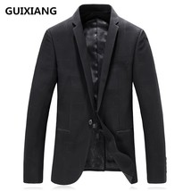 "2017 autumn Men""s Single button suits casual fashion high quality blazer... - $109.40"