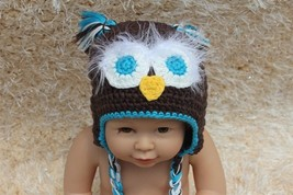 Knit Crochet Baby Child Kids Tassel Owl Hat  Beanie Newborn Photo Prop H... - $7.99