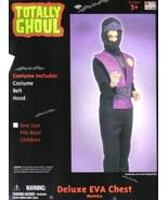 Child's Deluxe EVA Chest Halloween Costum, NEW UNUSED - $6.89