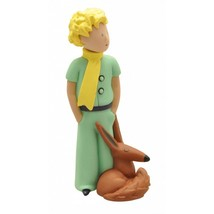 The Little Prince holding lamb and with fox 2 plastic figurine set Plastoy image 3