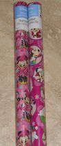 Disney Minnie Mouse Christmas Wrapping Paper American Greetings 20 sq ft Roll - $5.50