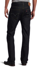 NEW LEVI'S MEN'S ORIGINAL FIT STRAIGHT LEG JEANS BUTTON FLY DIMENSIONAL 501-0444