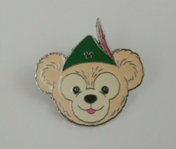 Disney Hidden Mickey 5 of 5 Duffy The Bear Wearing Peter Pan's Hat  Dark... - $7.69