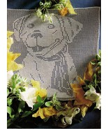 Best Friend Dog Canine Shepherd Labrador Retriver Crochet Wall Hanging P... - $6.99
