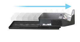 Easy Slider + Dust Cap Cover for LG Projector PF1000U HF65FA Korea Free Shipment image 3