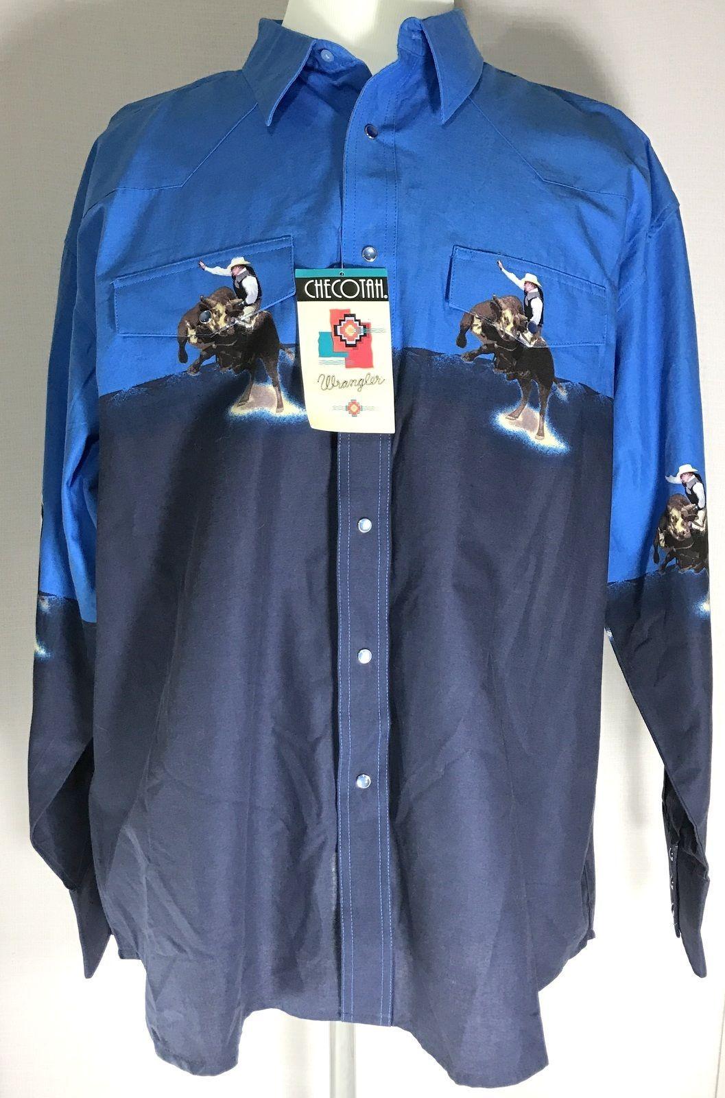 73475db1 Wrangler Checotah Western Shirt Mens Size and 50 similar items. S l1600