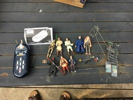 Star Wars Episode 1 Commtech Reader with 8 figurines and chips - $48.50