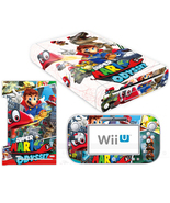 Super Mario Odyssey Vinyl Skin Decal Sticker for Nintendo Wii U Console ... - $12.00