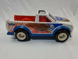 Tonka JEEP Truck American Eagle  Pressed Steel Vintage Diecast Toys Ruff - $18.43