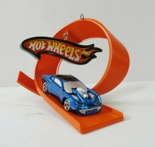 QXI6243 Hallmark Keepsake 2006 Sooper Loop Hot Wheels Christmas Ornament - $5.93
