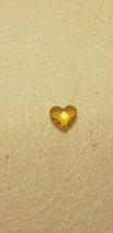 Origami Owl Charm (New) Yellow Heart - $8.85