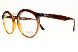 NEW AUTHENTIC RAY BAN RB7110 5200 HAVANA EYEGLASSES FRAME RB 7110 RX 49-... - $71.28