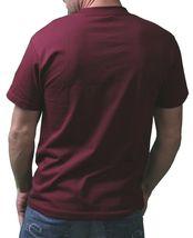 IM KING Mens Burgundy Records Music To My Heart Regular T-Shirt USA Made NWT image 3