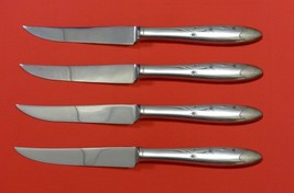 "Celeste by Gorham Sterling Silver Steak Knife Set 4pc HHWS  Custom Made 8 1/2"" - $247.10"