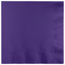 3 Ply Lunch Napkins Purple/Case of 500 - £31.45 GBP